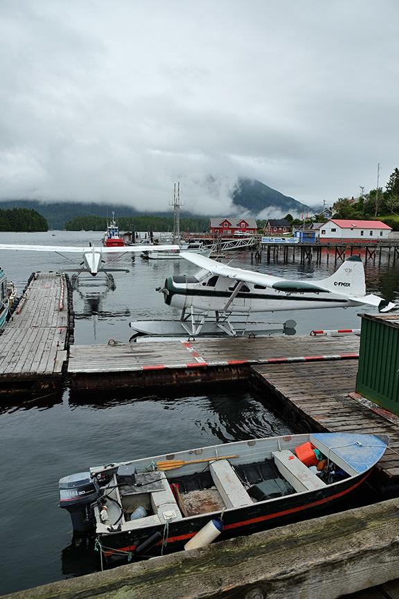 Clayoquot Harbor off of Tofino