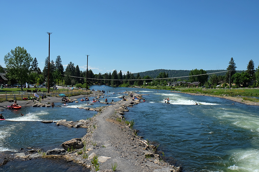 the standing wave in Bend