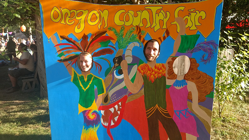 the OCF!! made it to Eugene