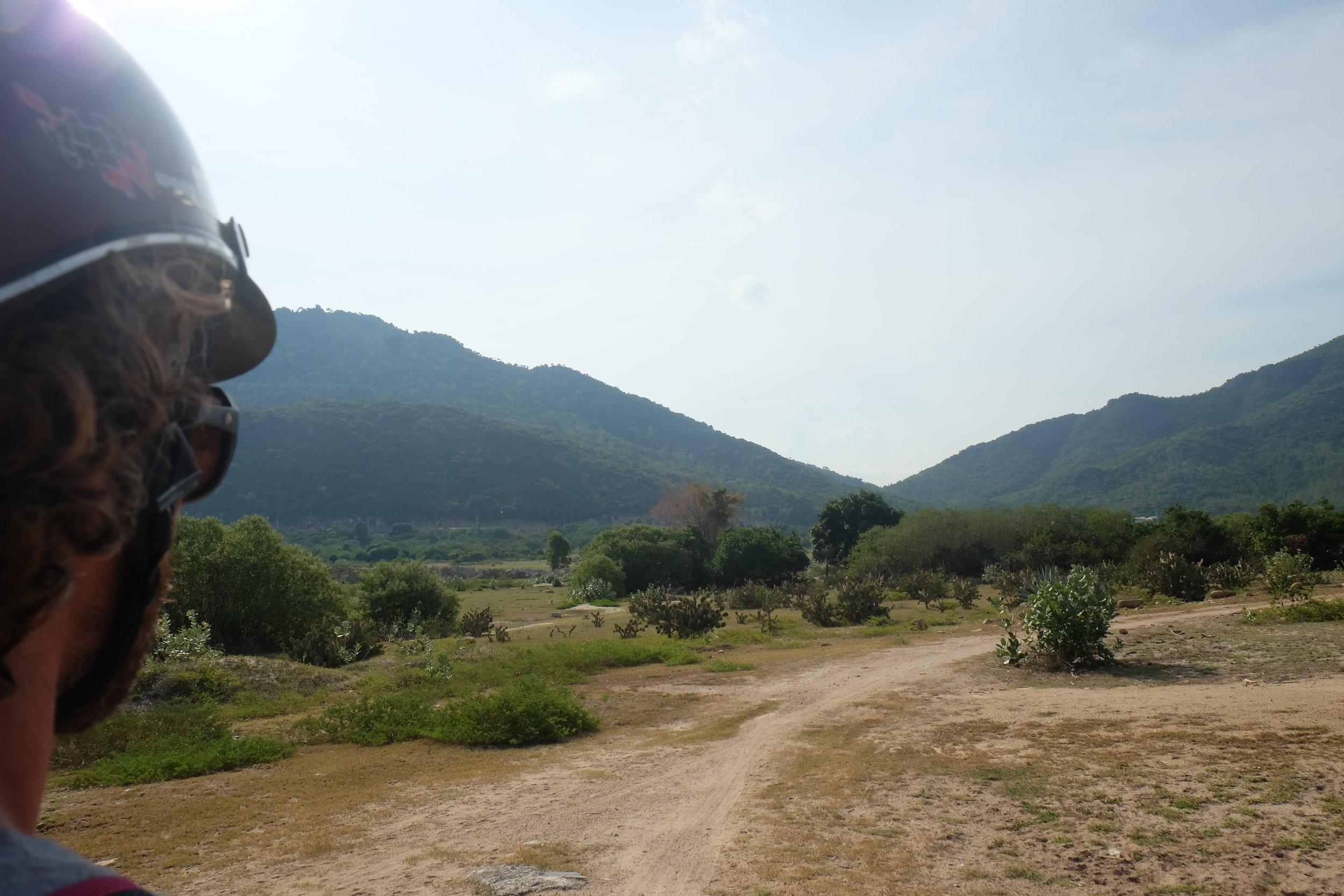 Approach to Binh Tien Beach