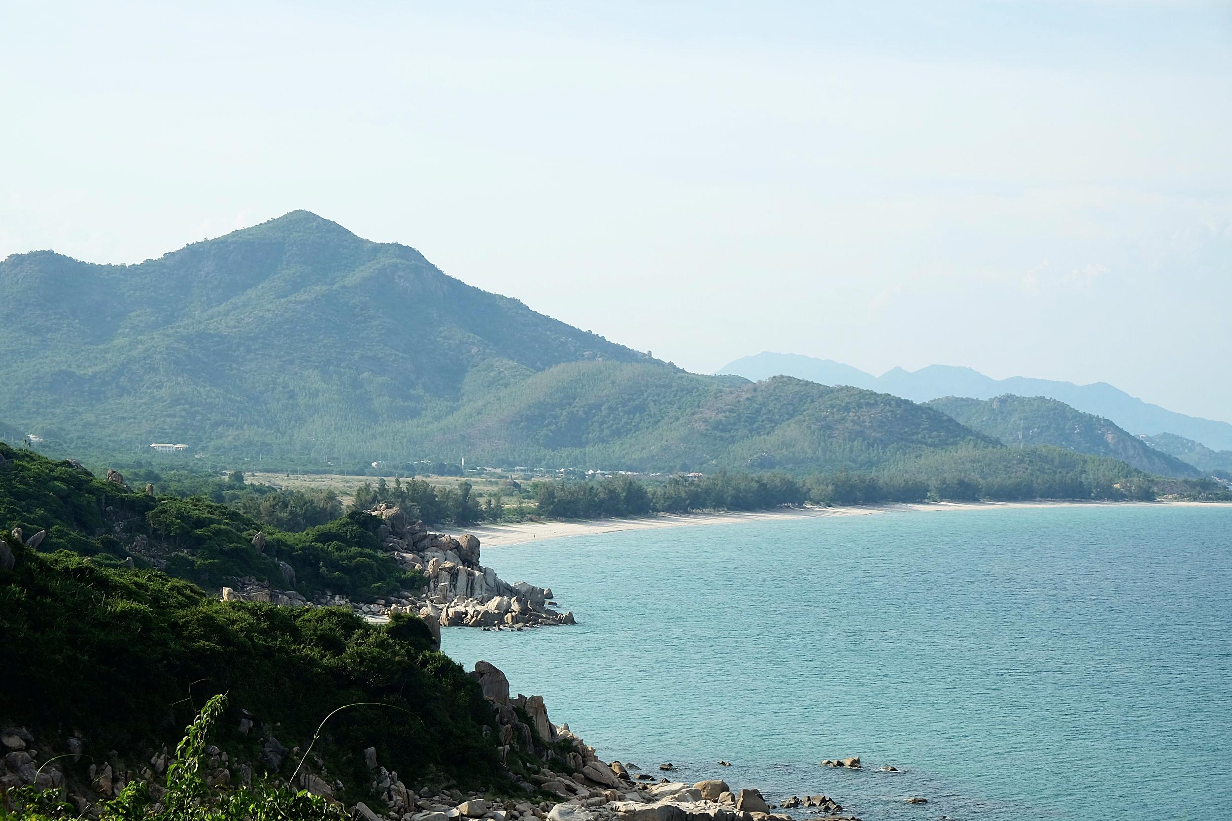 The beach at Binh Tien