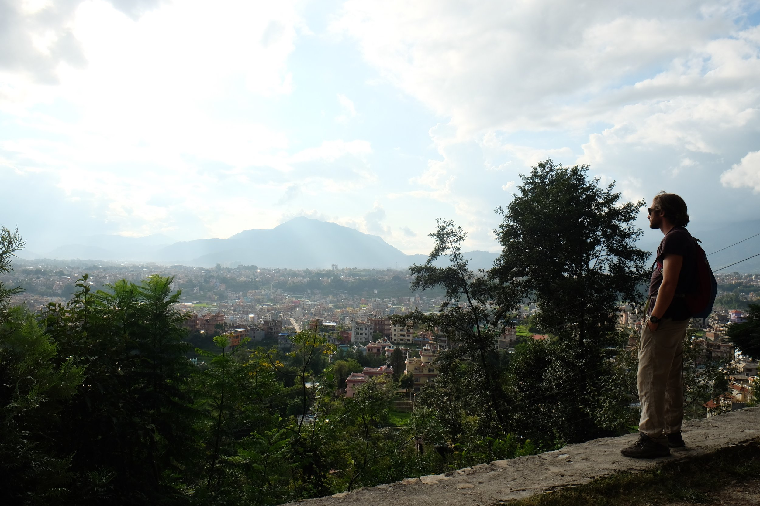 View from Kopan