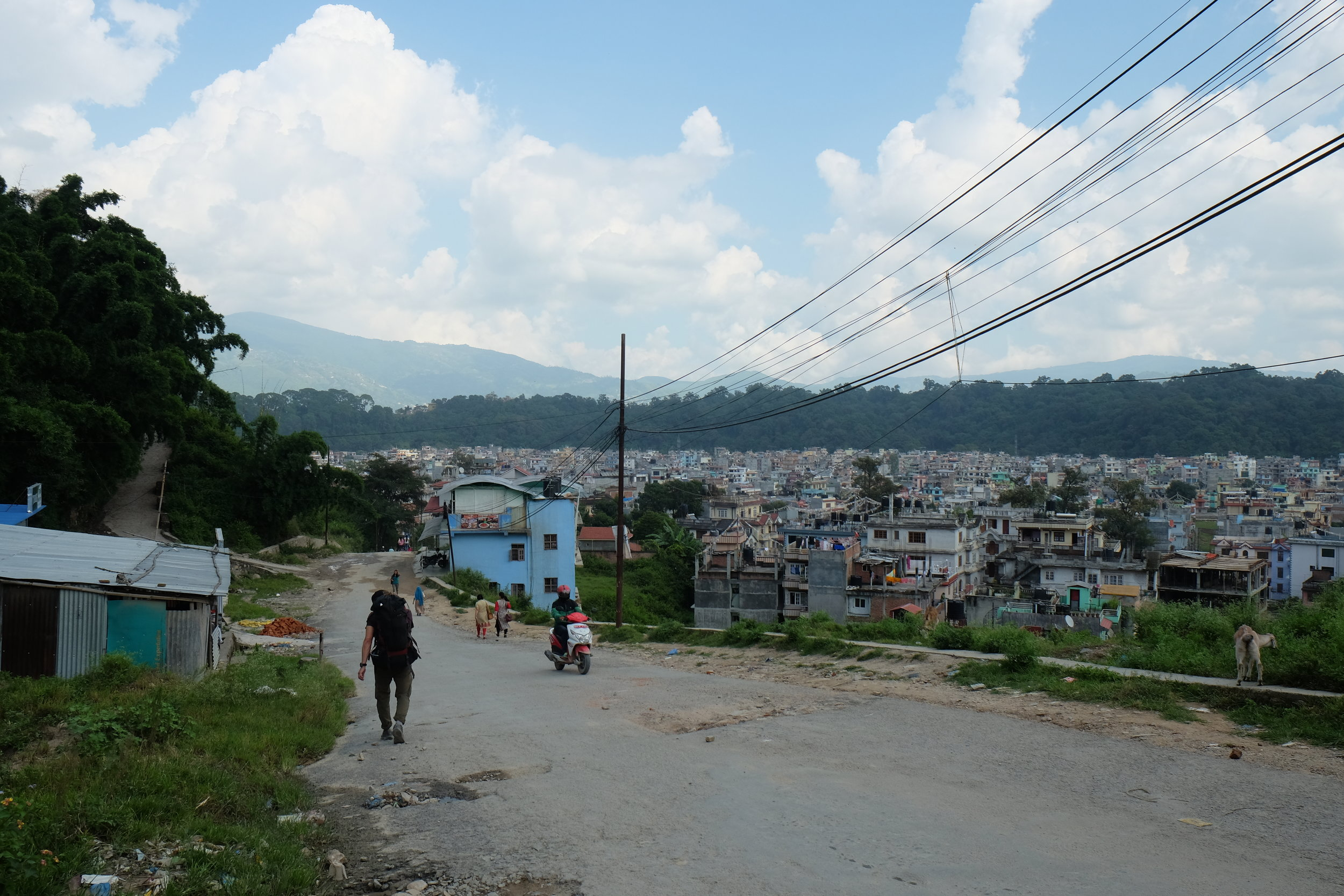 Kathmandu sprawl