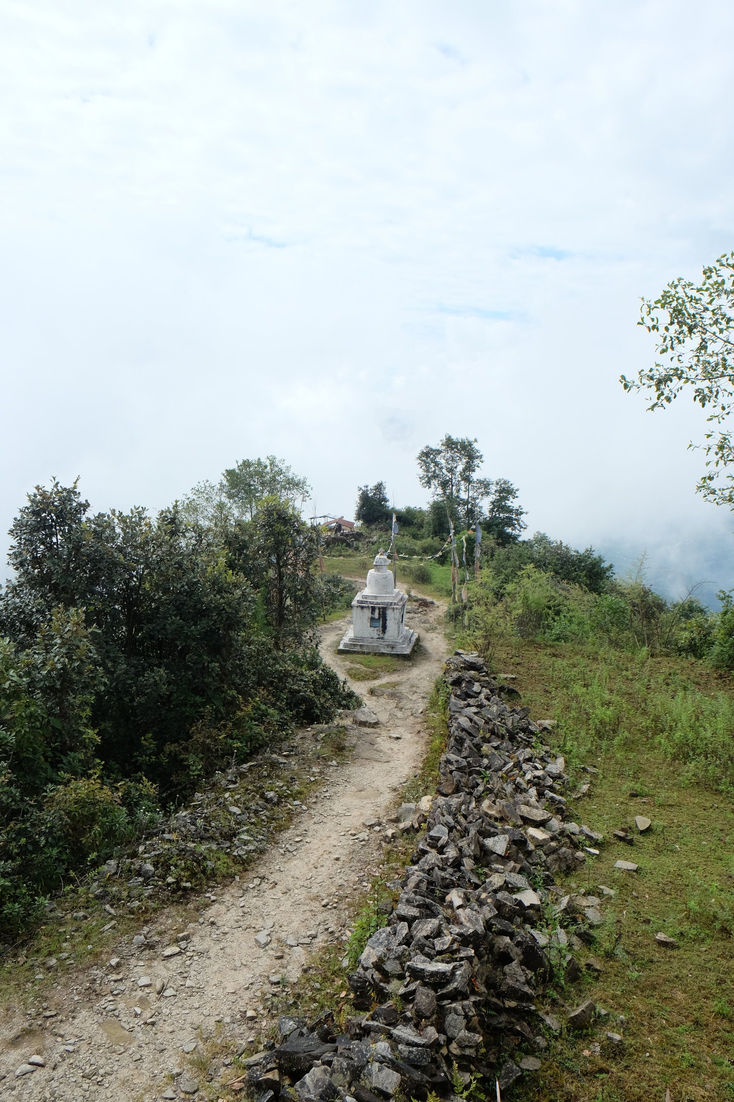 Ascent to Khutumsang
