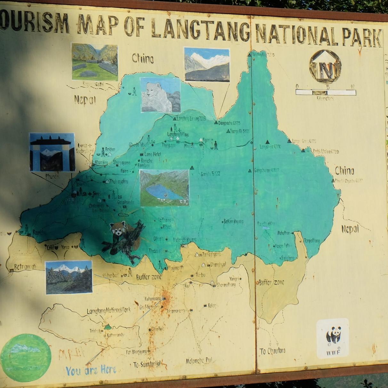 Entering Langtang