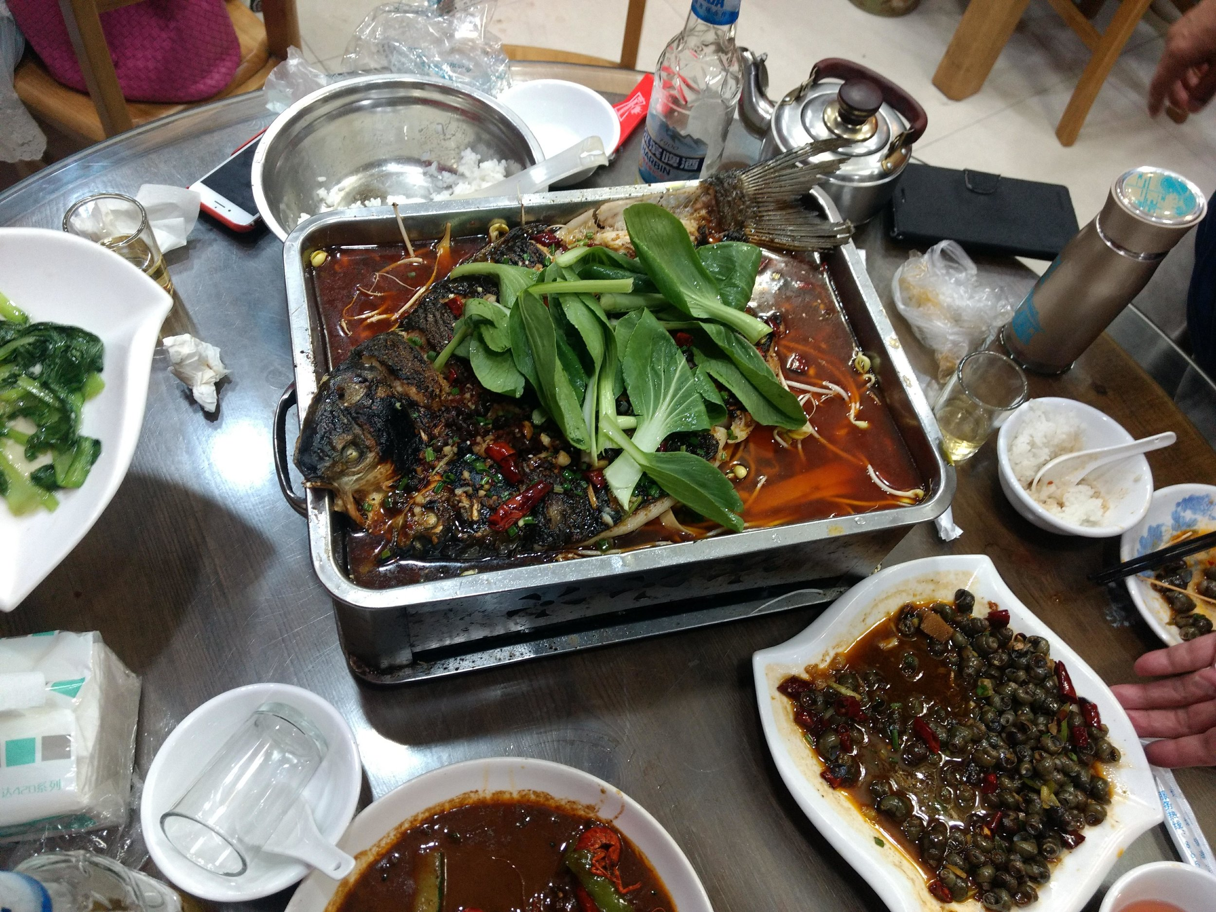 Spicy fish, Ningbo specialty