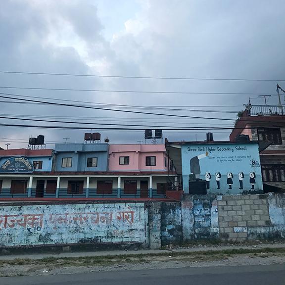 School in Pokhara