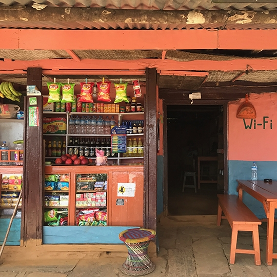 Supply store on the trail