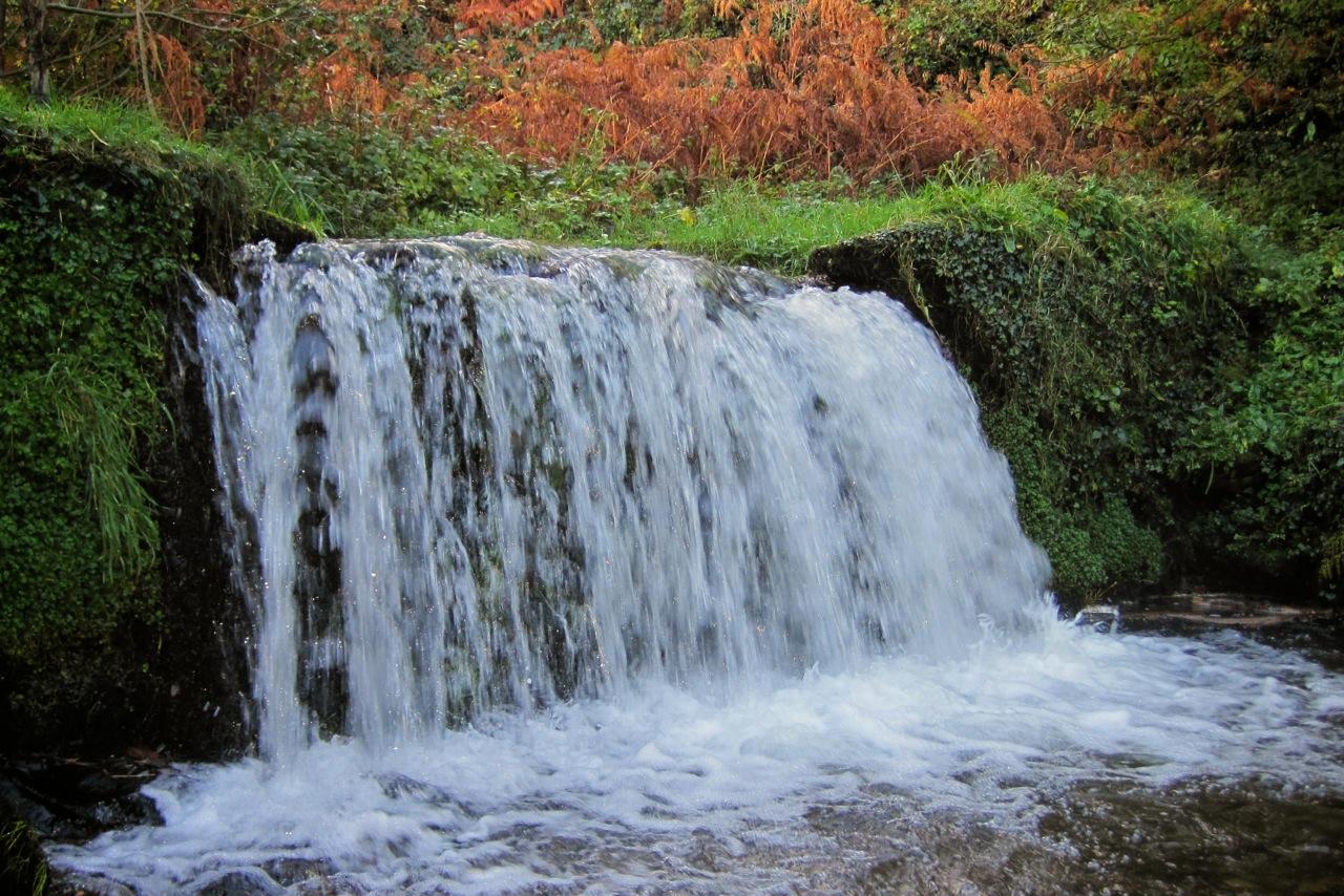 Waterfall at Lee Bay