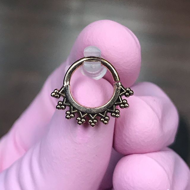 Some of the new jewelry we've recently stocked from @mayajewelry  #thetattooery #tattooerypiercings #rosegold #whitegold #goldbodyjewelry #collegeparkmd