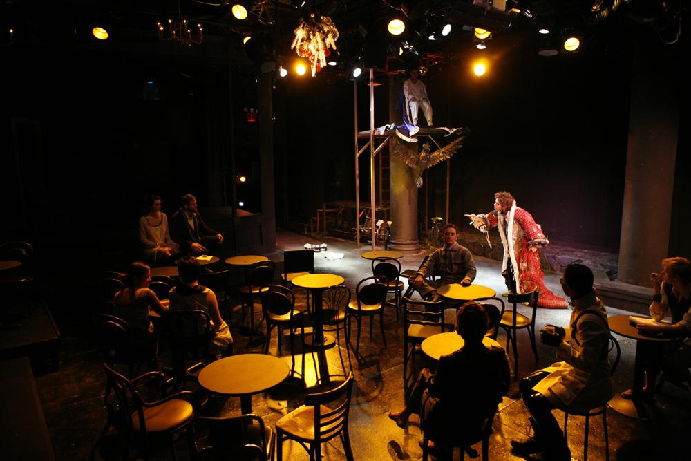 Director: Paul Lazar  Set: Hannah Hogan  Costumes: Shana Goldberger  Photo: Vadim Ledvin  2008