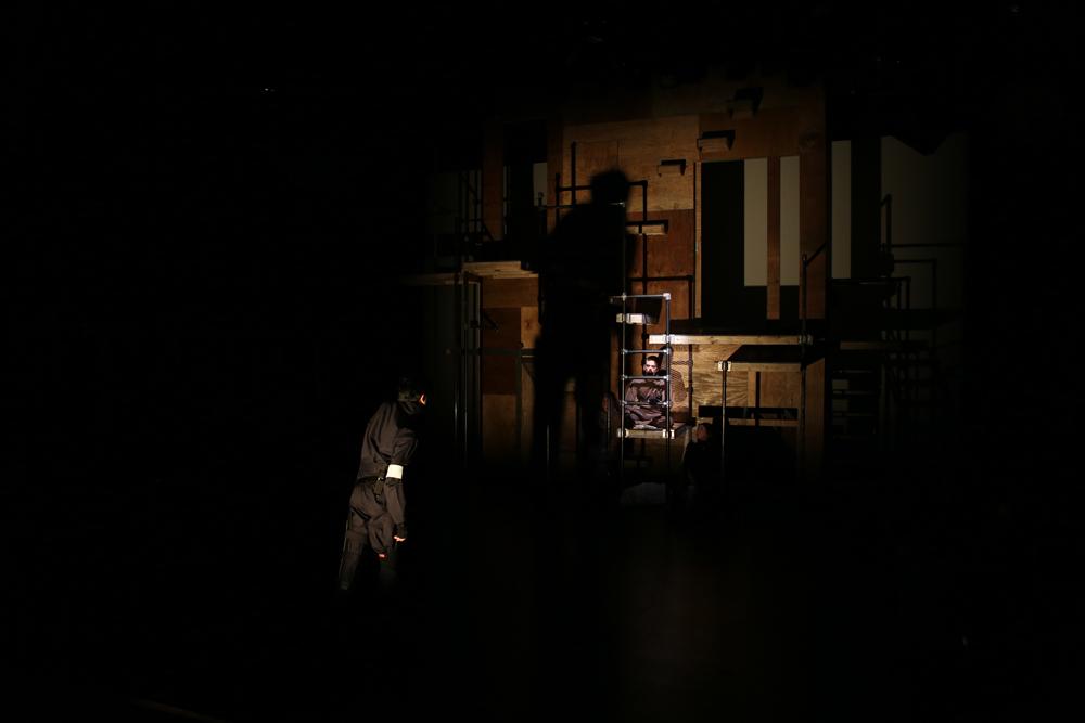 Directed : Jack Fletcher  Set : You-Shin Chen  Costumes : Izzy Fields  Photo : Ella Bromblin  NYU, 2014.