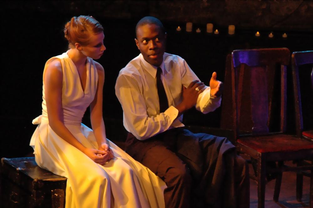 Directed: Steve M. Boyle  Set : Rachel Schneider  Global Shakespeare Ensamble, 2010.