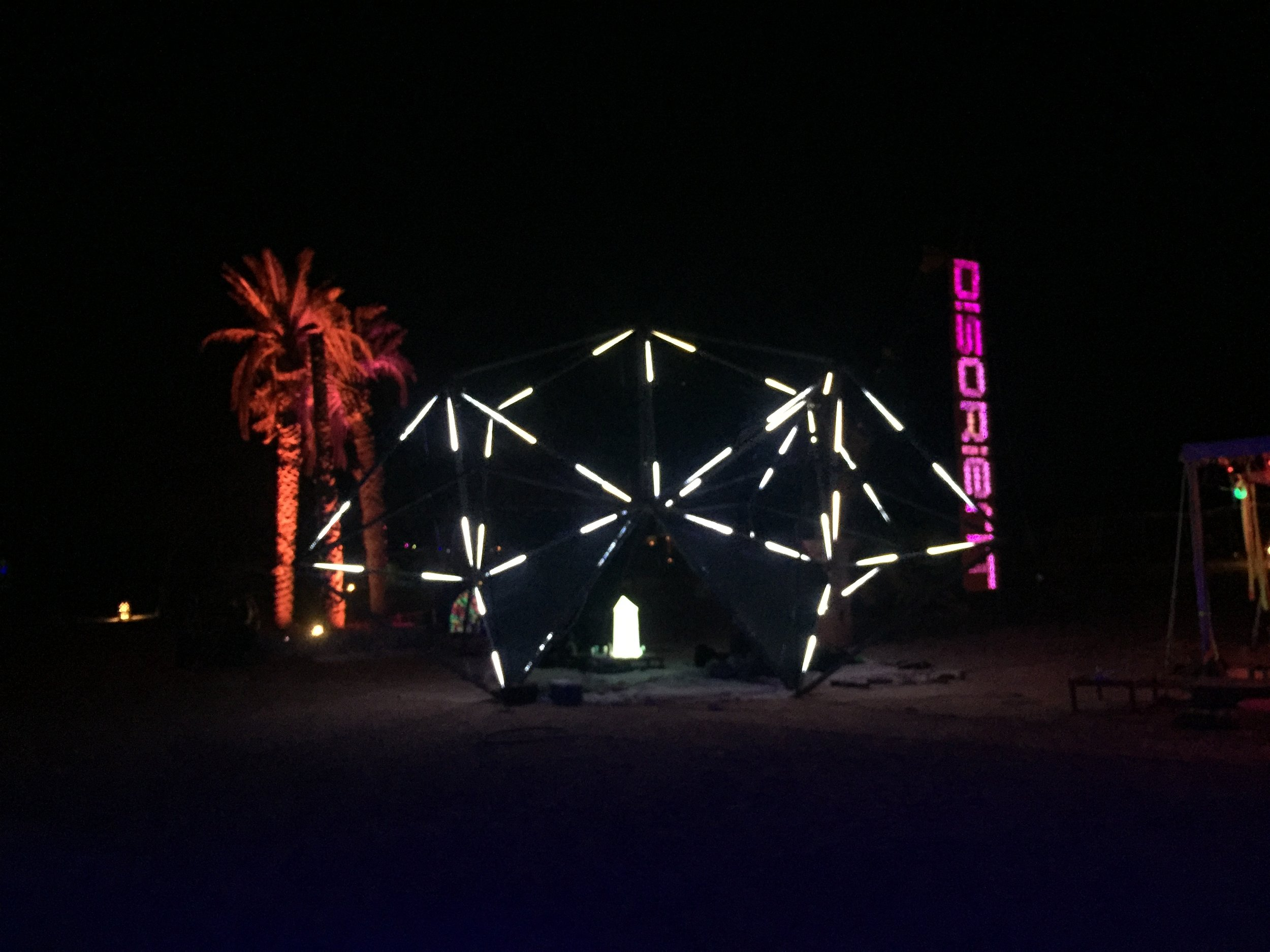 Bedouin Tech   Burning Man community arts and music festival.   Dubai, UAE.   Feb, 2017.