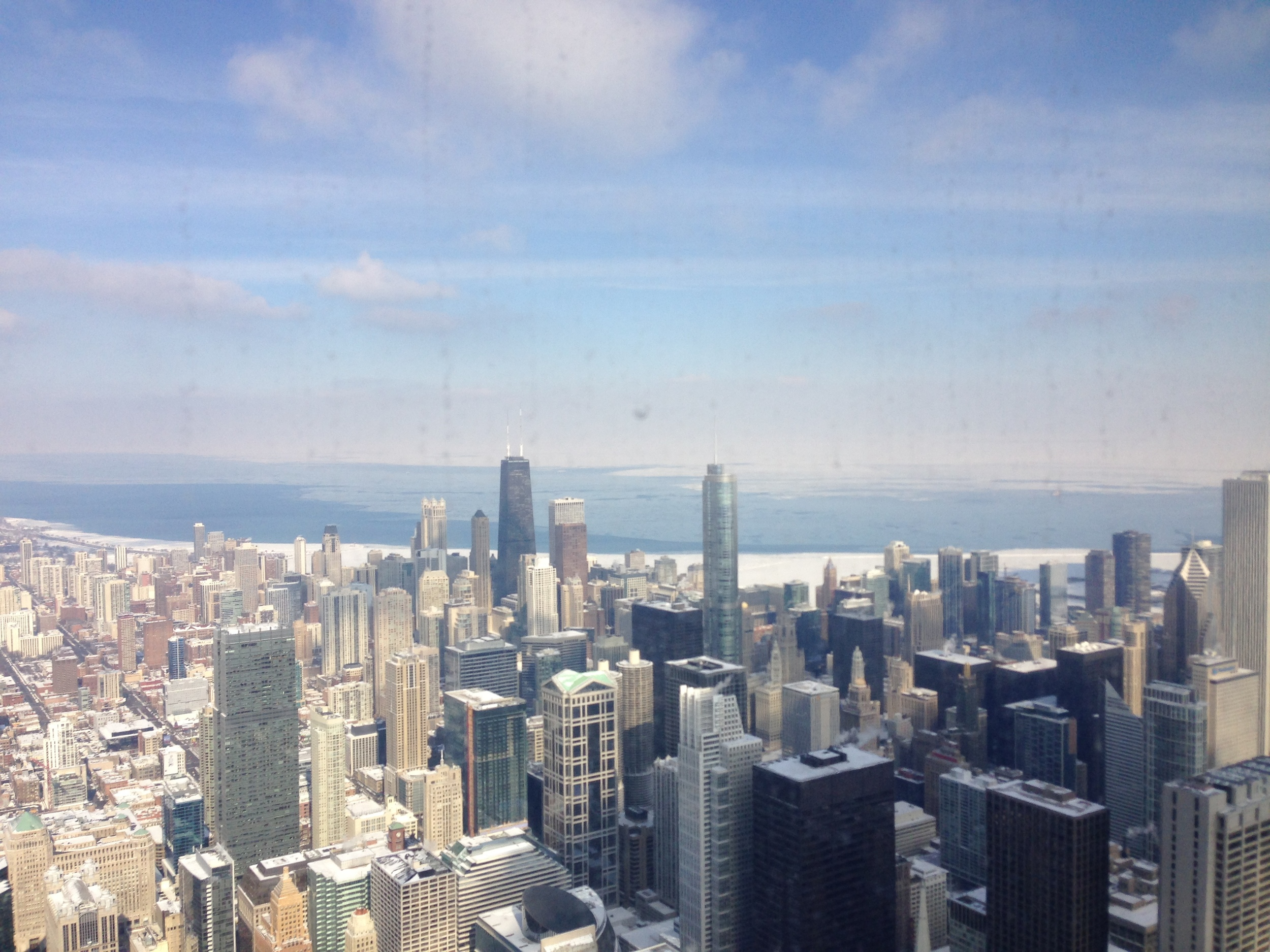 skyline from the top!