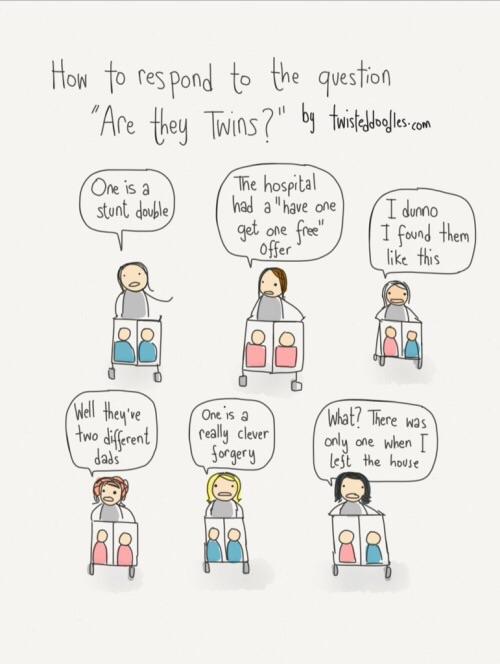 This awesome comic is from the website  Twisted Doodles .