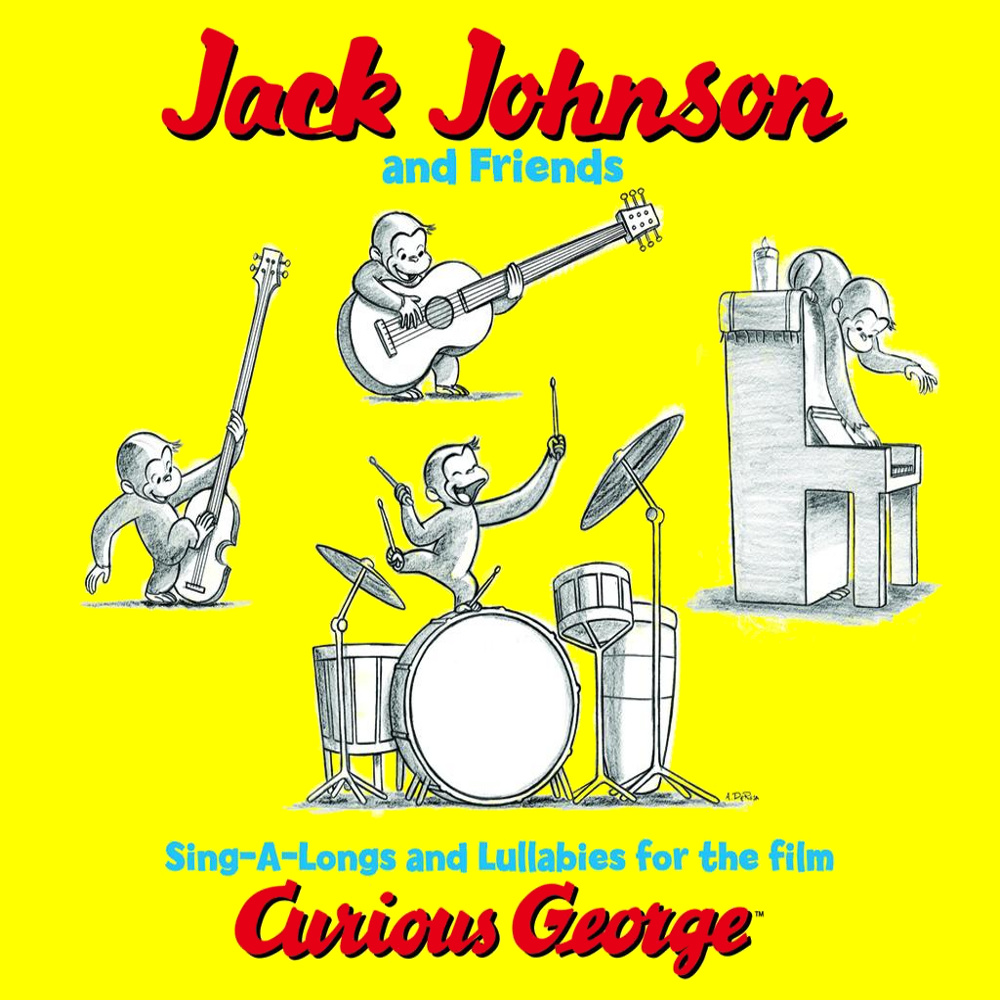 Jack Johnson 's soundtrack to the Curious George movie