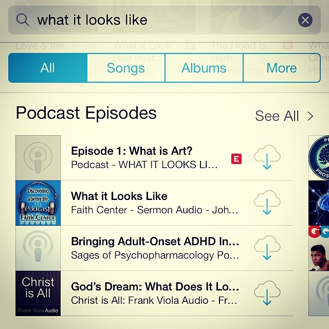 Aaaaand there it is! Now searchable on iTunes. It's tagged explicit because Anthony Cooper of VSVSVS got a bit riled up about lineups and dropped the f-bomb. But next to these religious podcasts, that E looks positively scandalous!