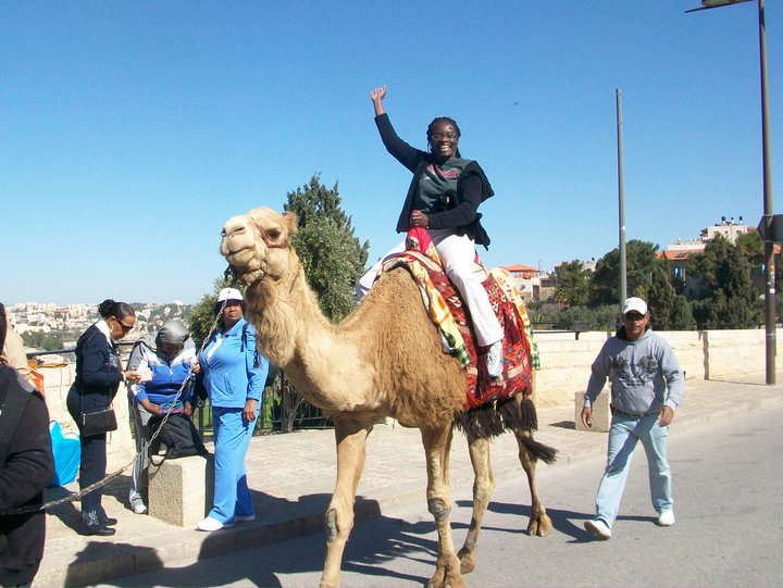 3/2011 Camel Ride in Jerusalem