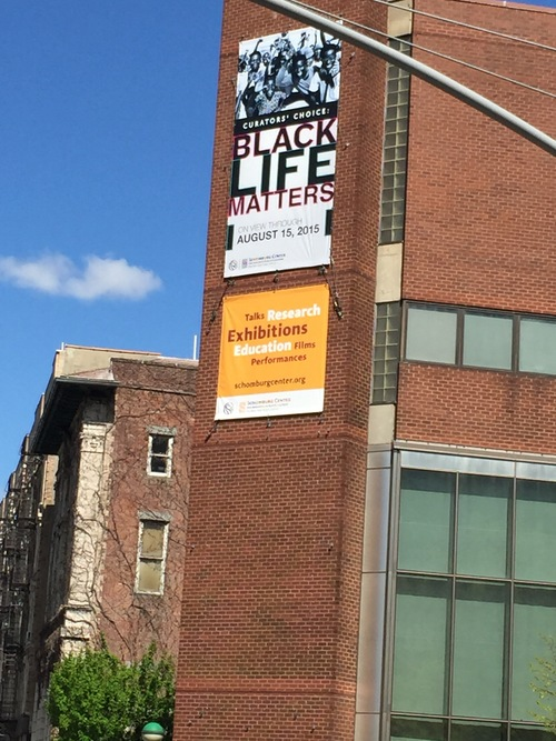 Schomburg Center, Harlem, NY, April 2015