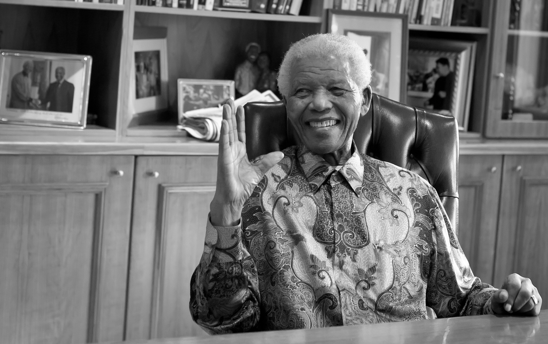 Nelson Mandela_Adam Jacobs Photography