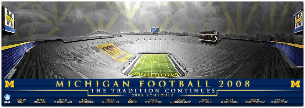 Michigan Football Schedule Poster 2008.jpg
