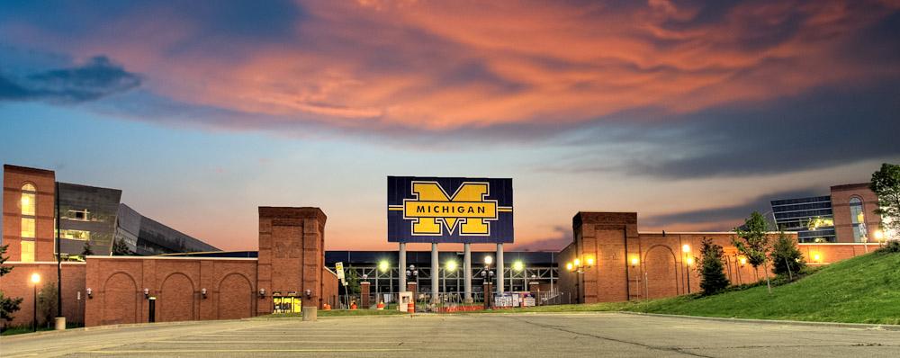 Sunset Michigan Stadium_Adam Jacobs Photography.jpg