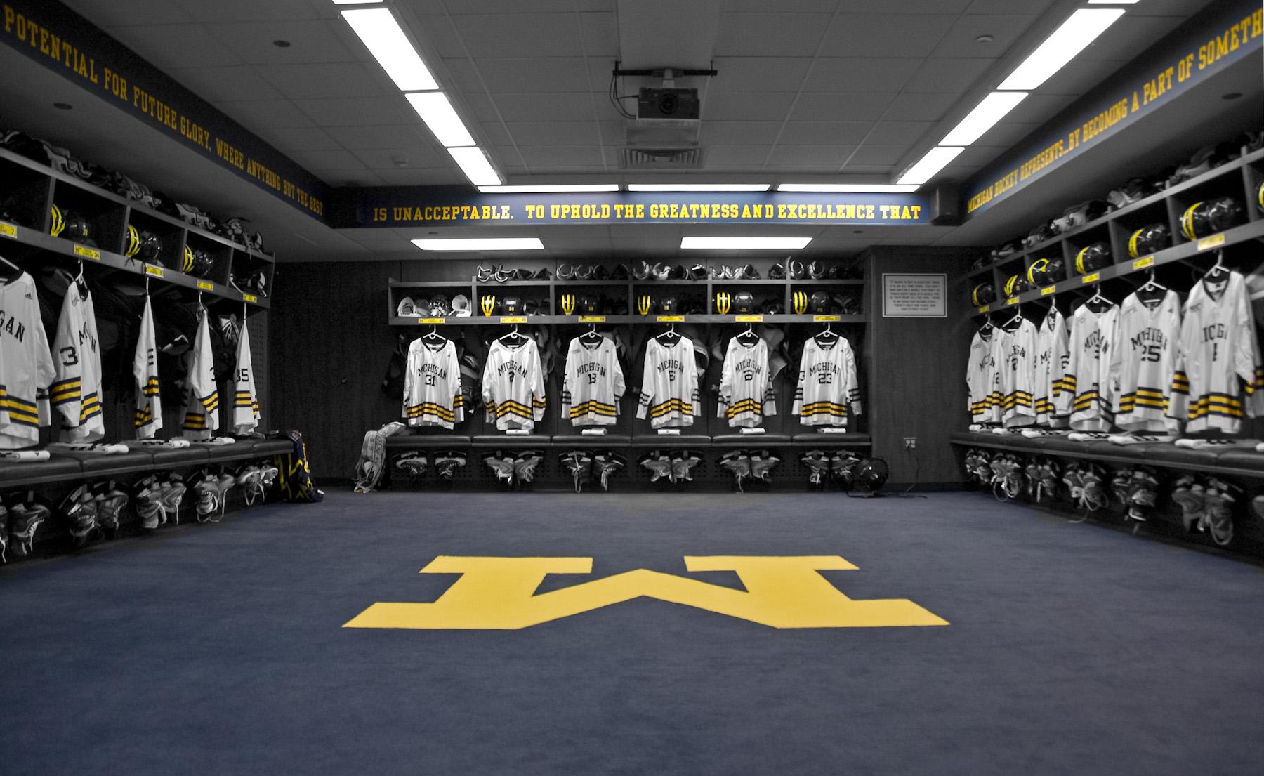 Michigan Hockey Locker Rooms Yost Arena.jpg