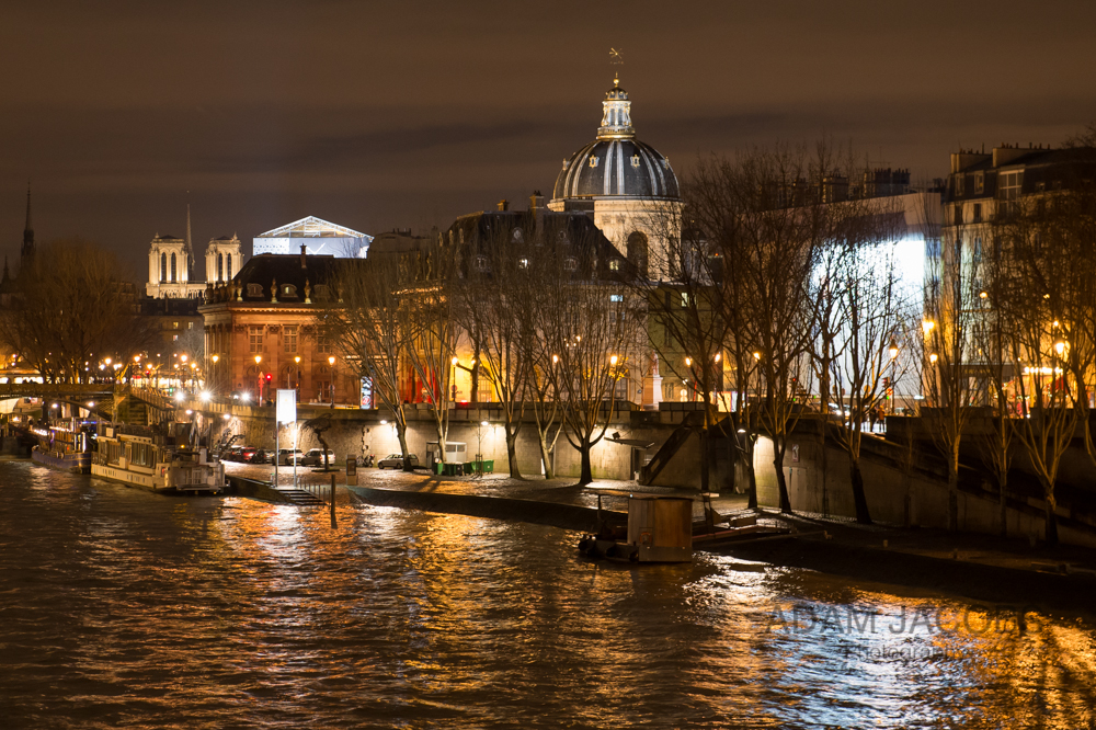 Notre Dame Reflections Paris River Seine