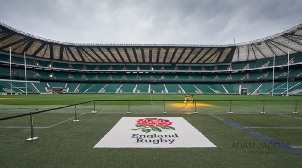 Twickenham Stadium Pitch Photograph_Adam Jacobs