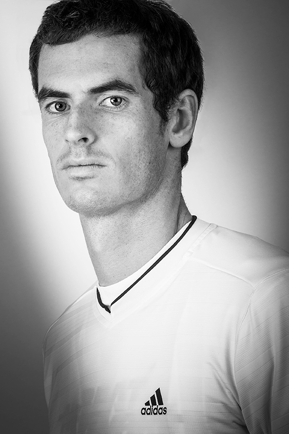 Sir Andy Murray Portrait_Adam Jacobs Photography