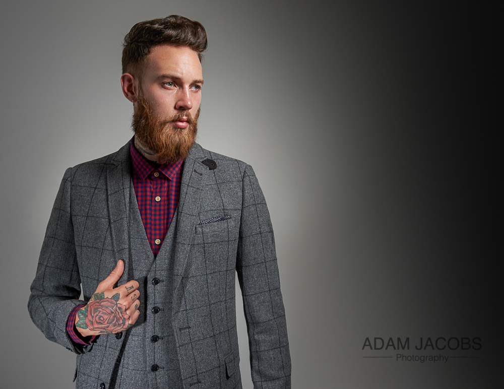 Adam Jacobs Photography_Billy Huxley Model Suit Moss Bros 3