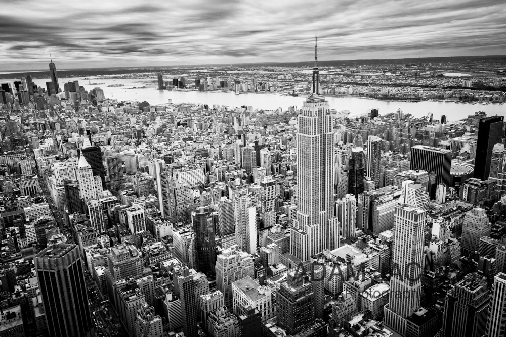 Adam Jacobs Photography_New York Aerial Manhattan Empire State 2