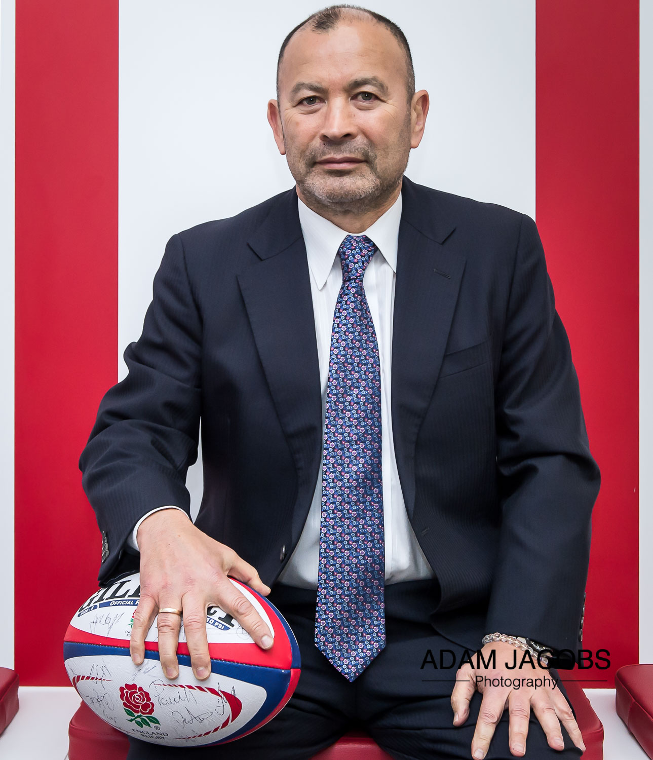 Eddie Jones England Rugby Coach_Adam Jacobs Photography_Sports Portrait