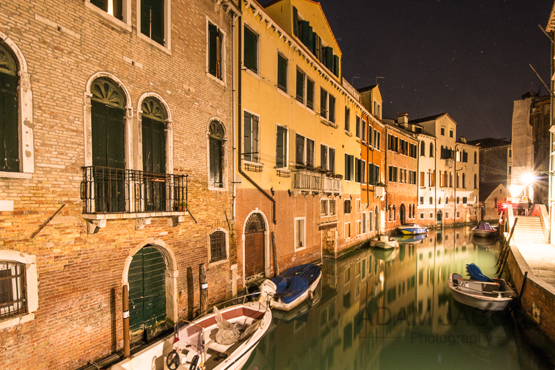 Adam Jacobs Photography Venice Canal Landscape Picture Italy Travel