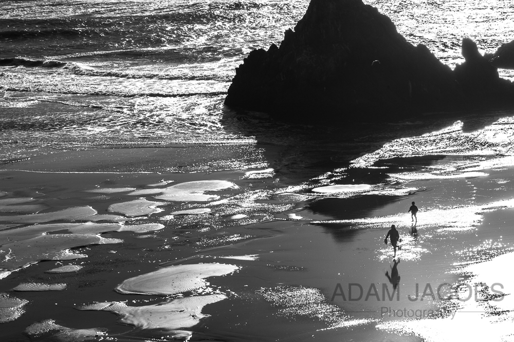 Adam Jacobs Photography Fine Art Black and White Photography Landscape California San Francisco SeaScape Ocean