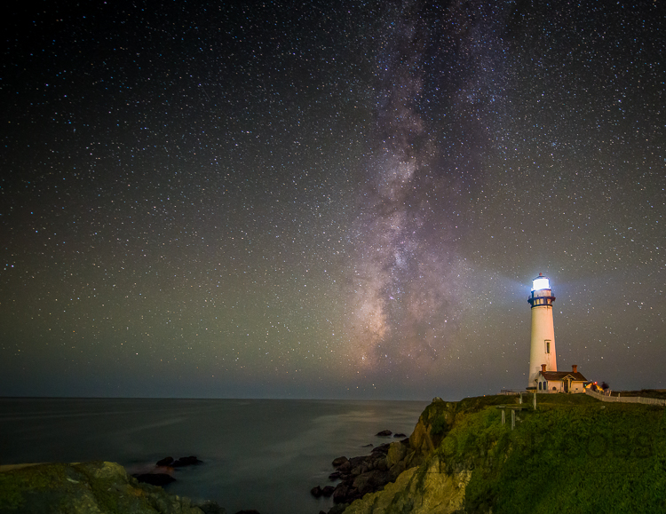 Pigeon Point_Adam Jacobs Photography Stars Milky Way Astrophotography California Highway 1