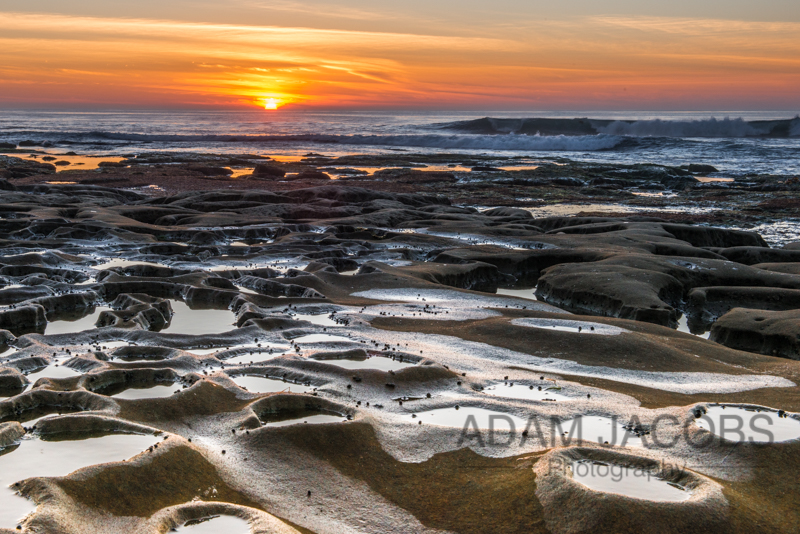 La Jolla Tidal Pools Adam Jacobs Photography Landscapes For Sale Sunset