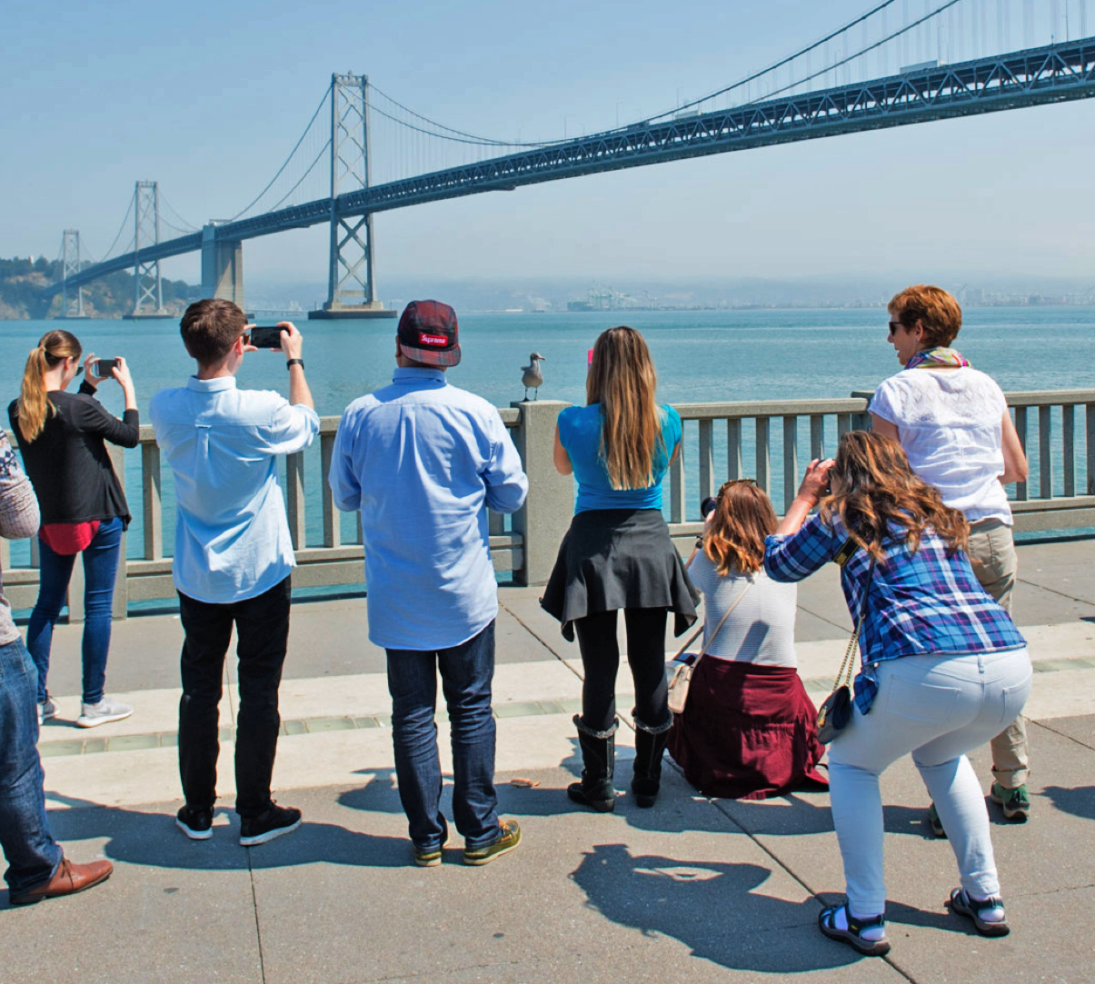 Adam Jacobs Group Photography Workshops for corporate and tech companies on the Embarcadero in San Francisco.