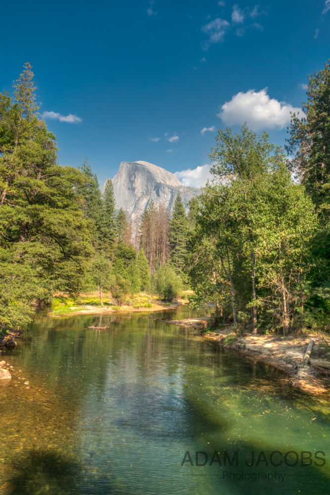 Half Dome Reflections Yosemite National Park Adam Jacobs
