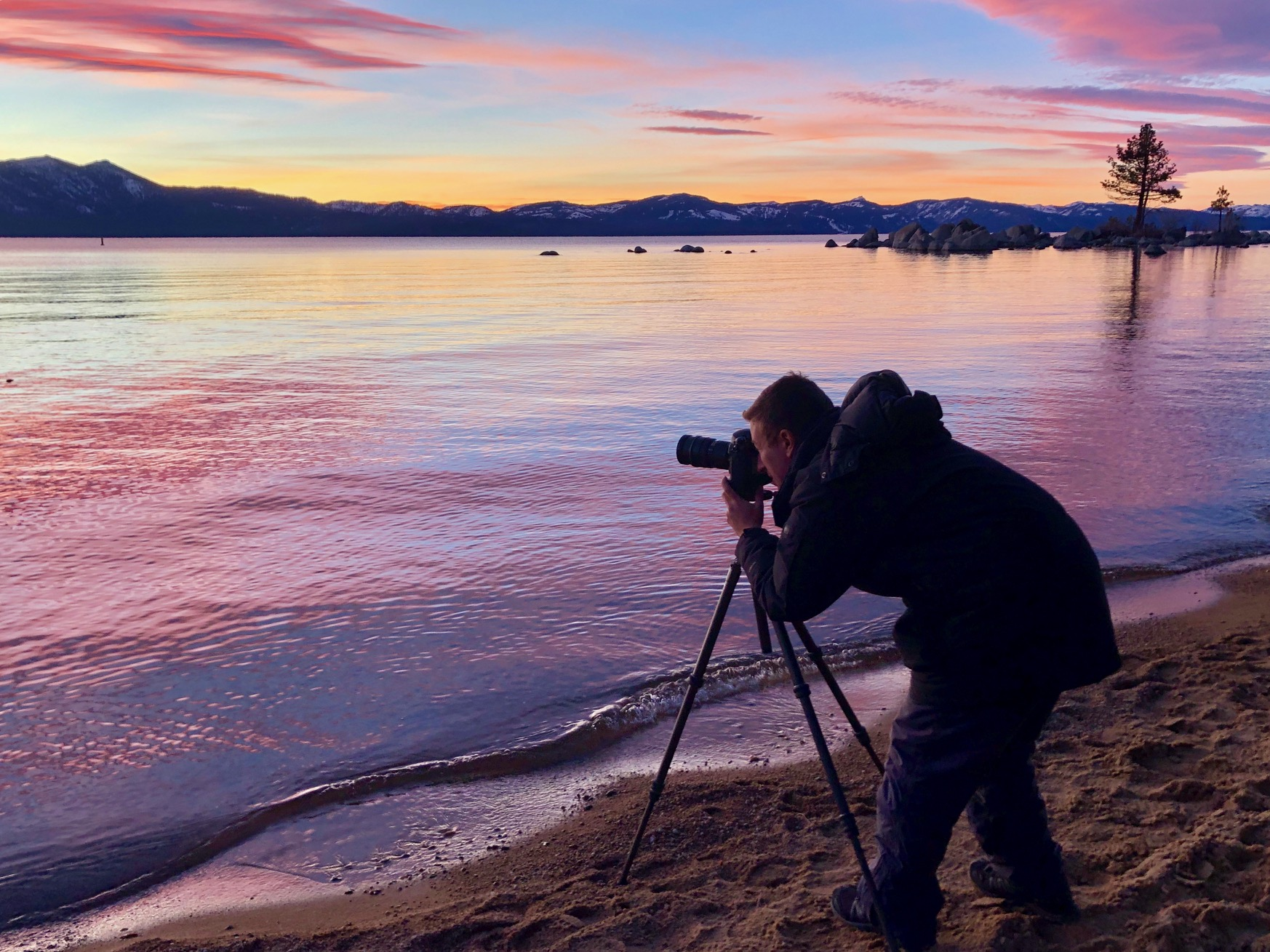 Adam Jacobs Photography Gitzo Lake Tahoe California Landscape Photography