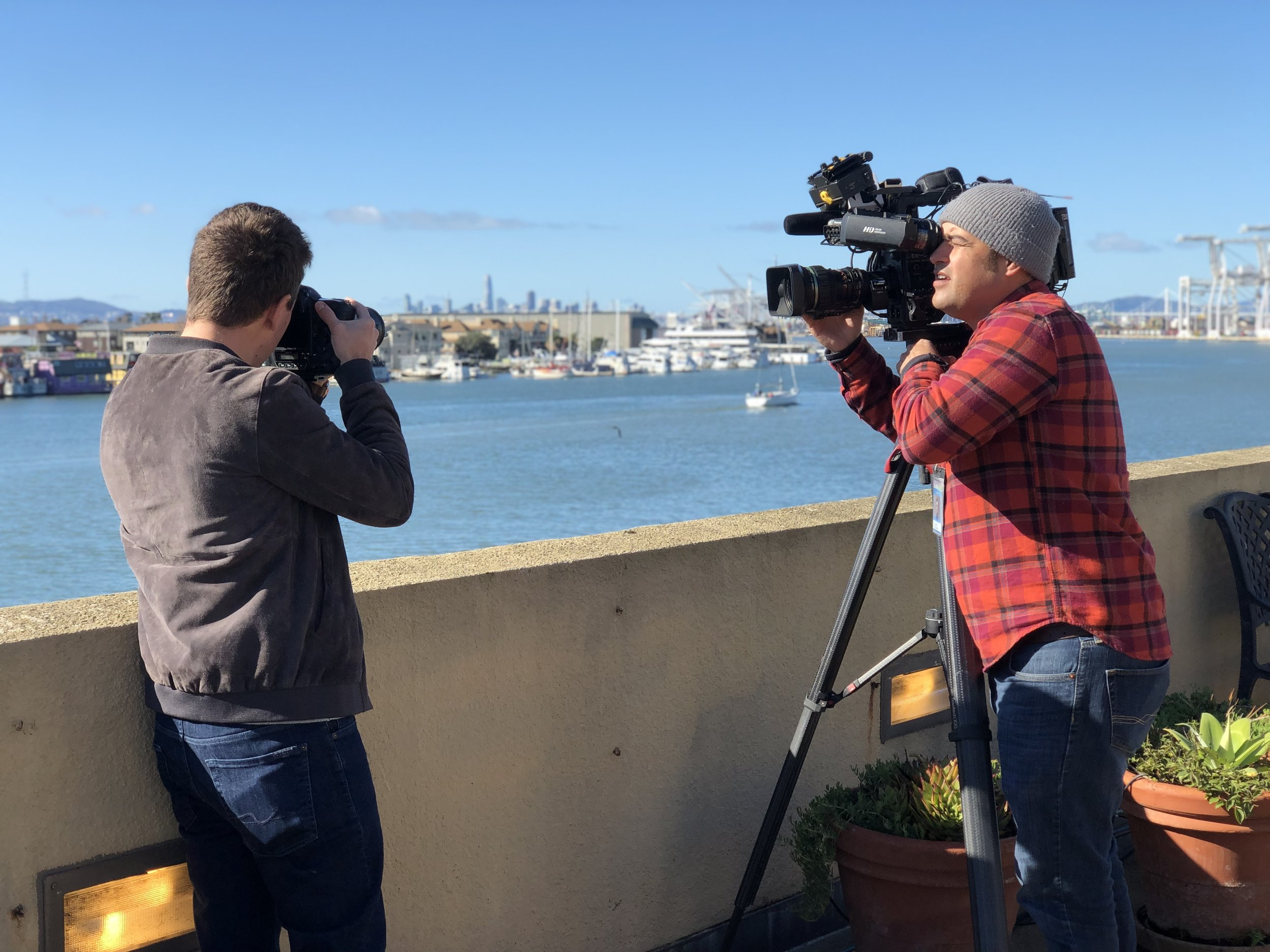 Adam Jacobs Fox Interview Filming Photography Career San Francisco