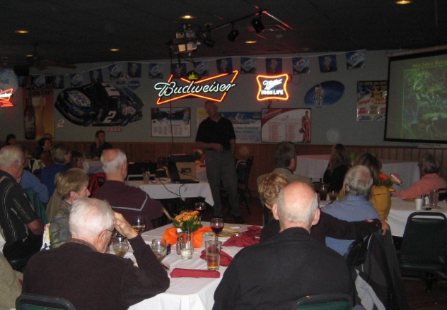 Fall 2012 Banquet with DNR speaker.