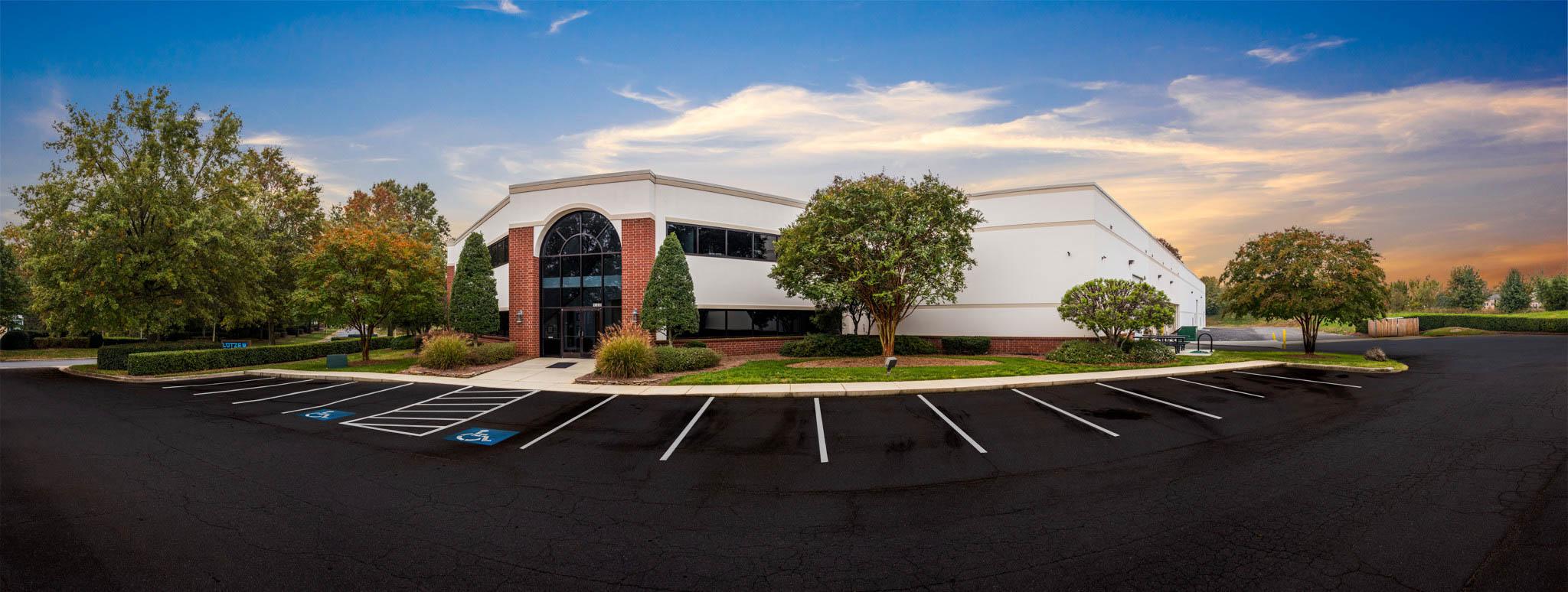 Panorama of corporate headquarters