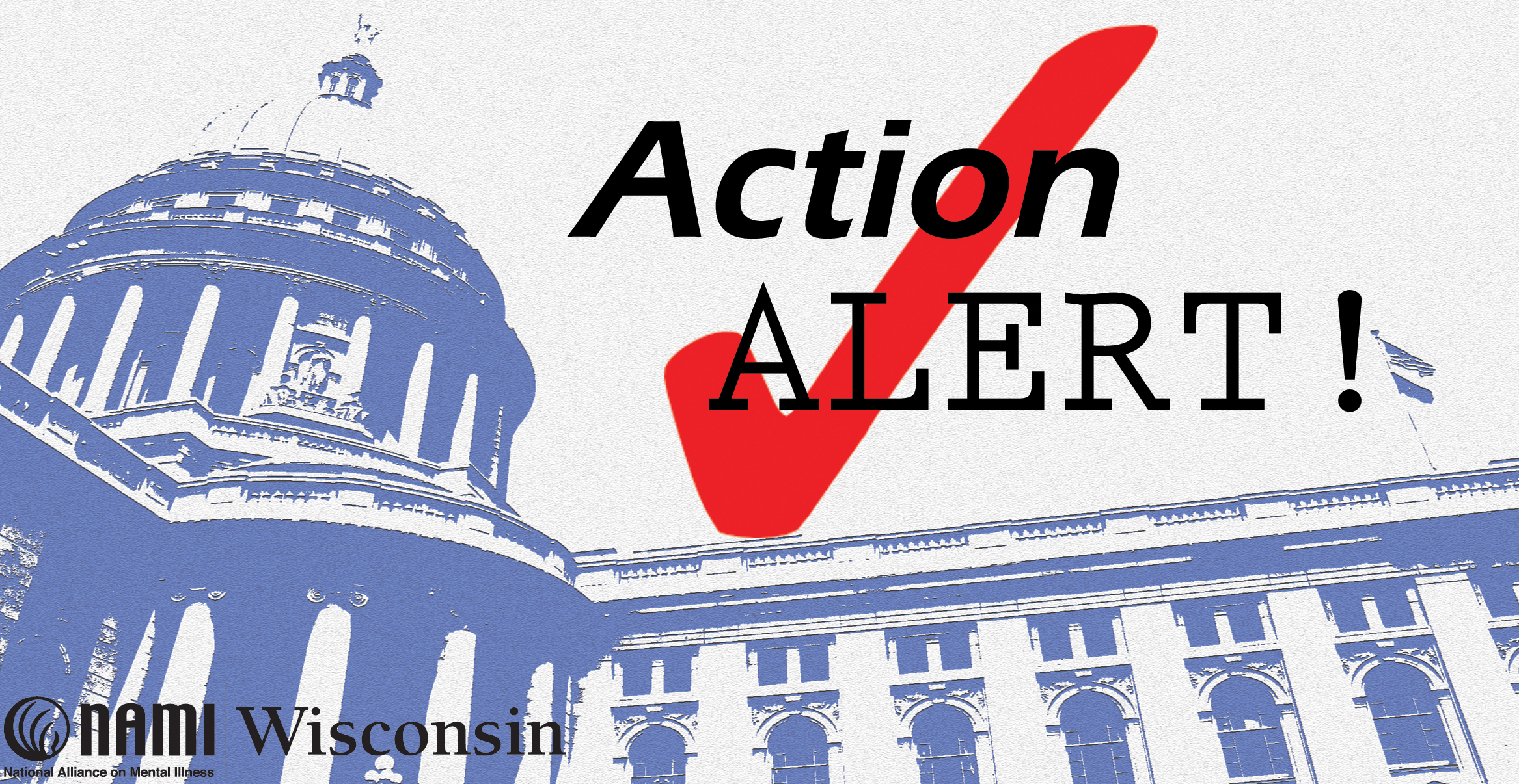 NAMI Wisconsin Action Alert Image