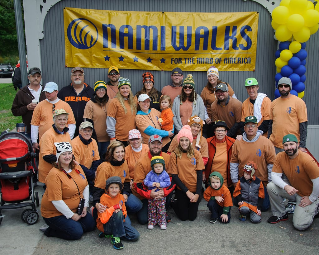 Trevor's Team – NAMIWalk 2015