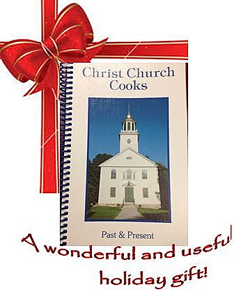 Cookbooks make great gifts! - Pick up yours today - call the church office at203-393-3399