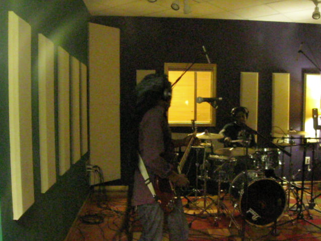 Geisha Hit Squad at Lucky Dog Studios, December 2014