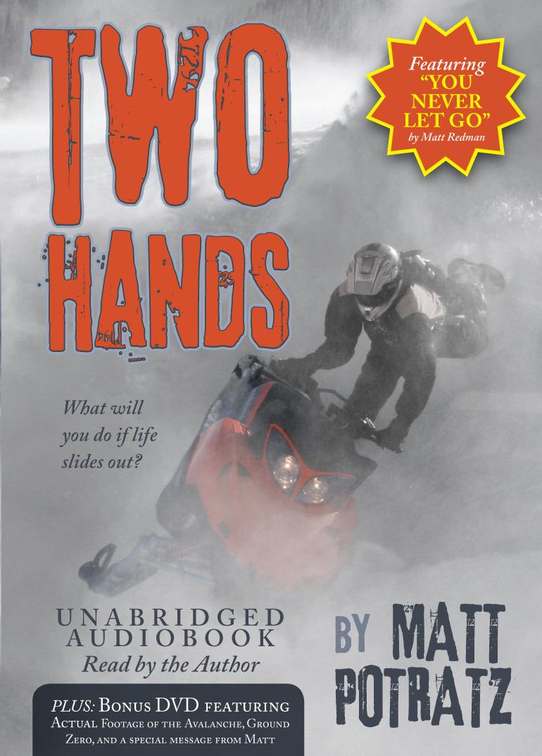 Two Hands Audiobook with Bonus DVD