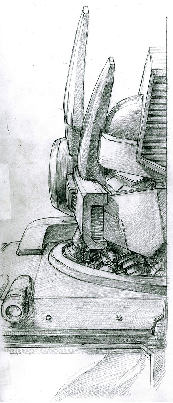 G1 Optimus Prime.